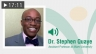 Dr. Stephen Quaye: Race Relations & The Mobilizing Anger Collective